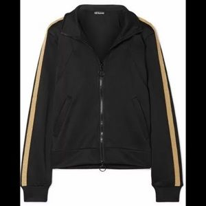 All Access Tune Up Jacket Black Gold Size Small